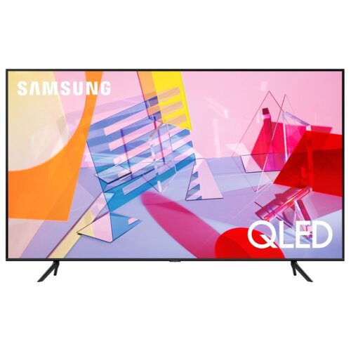 Телевизор QLED Samsung QE55Q60TAU 55 (2020) черный  - купить со скидкой