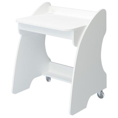 Компьютерный стол Мэрдэс Домино Нельсон СК-13, 76.2х59 см, цвет: белый жемчуг стол компьютерный merdes домино нельсон ск 7