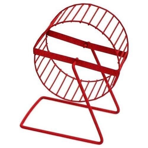 Вращающееся колесо для грызунов Зоо Марк металлическое 12 см