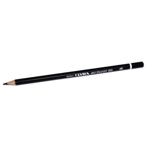Купить Lyra Карандаш чернографитный Art design 4B (L1110104), Карандаши