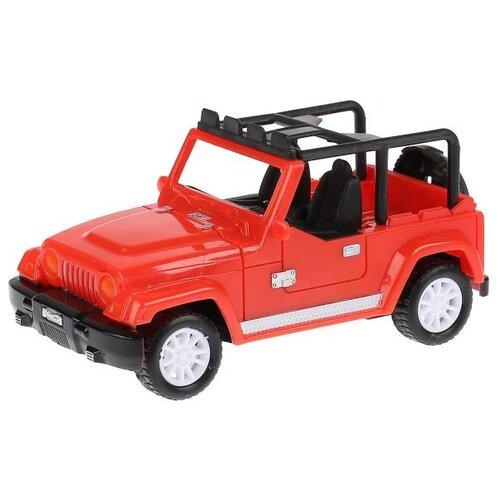 Купить Внедорожник Технодрайв Джип (T490-D4803-R) 1:28 17 см красный, Радиоуправляемые игрушки