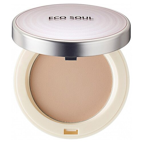 цена на The Saem Пудра компактная санскрин Eco Soul UV Sun Pact 23 natural beige