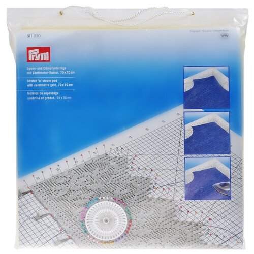 Купить Prym Планшет для растягивания и отпаривания вязаных изделий (611320) белый, Инструменты и аксессуары