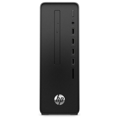 Настольный компьютер HP 290 G3 (123Q8EA) Slim-Desktop/Intel Core i3-10100/8 ГБ/256 ГБ SSD/Intel UHD Graphics 630/Windows 10 Pro черный моноблок hp proone 440 g4 aio 23 8 intel core i3 8100t 8gb ddr4 1000gb 128gb ssd dvd rw intel uhd graphics 630 wifi bt kbd mouse windows 10 pro