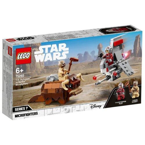 Конструктор LEGO Star Wars 75265 Микрофайтеры: Скайхоппер T-16 против Банты конструктор lego star wars микрофайтеры 75263