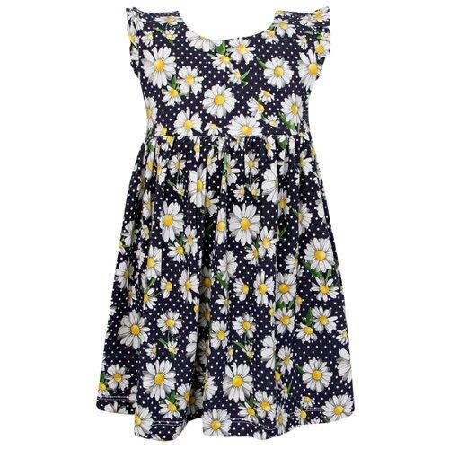Платье Mayoral размер 86, цветочный принт/синий/белый