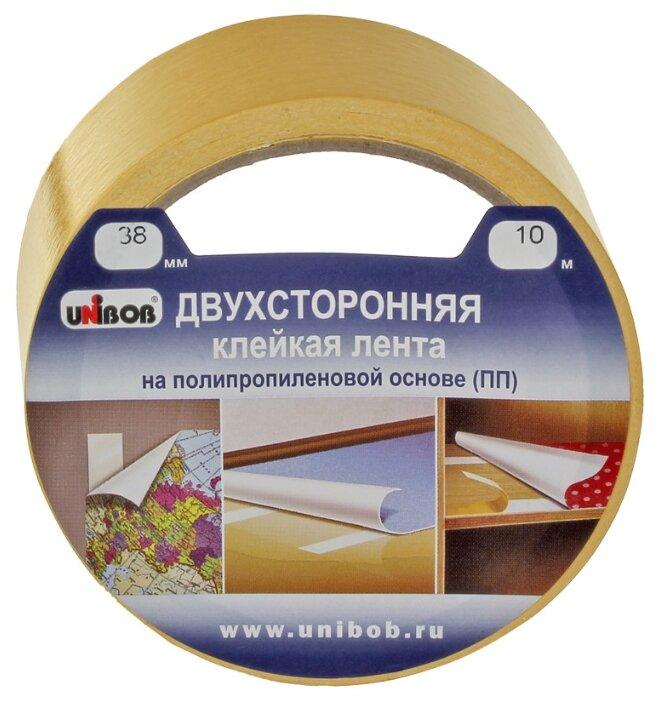 Клейкая лента монтажная UNIBOB 38566, 38 мм x 10 м