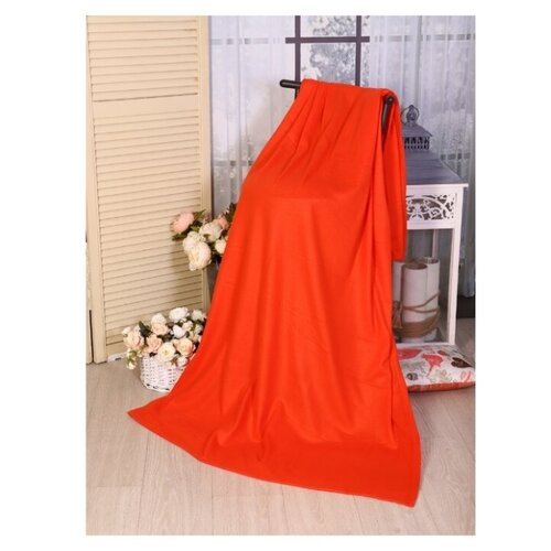 Плед Текстильная лавка 150х200 см 130 г/кв.м, красный