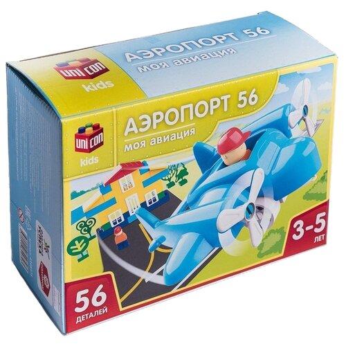 Купить Конструктор UNICON Моя авиация 4348375 Аэропорт, Конструкторы