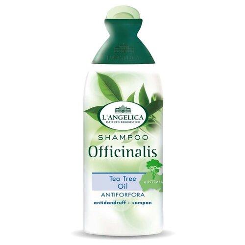 Фото - L'Angelica шампунь Officinalis с маслом чайного дерева против перхоти 250 мл logona шампунь treatment juniper против перхоти с маслом био можжевельника 250 мл
