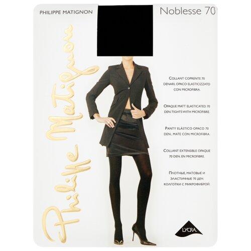 Колготки Philippe Matignon Noblesse 70 den, размер 4-L, nero (черный) колготки philippe matignon nudite crystal 30 den размер 4 l nero черный