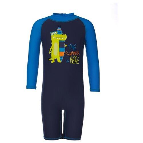 цена Комбинезон Oldos размер 86, темно-синий/голубой онлайн в 2017 году