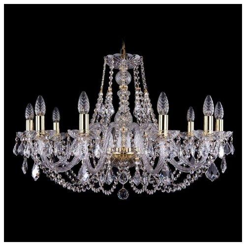 Люстра Bohemia Ivele Crystal 1406 1406/10/300/G/Leafs, E14, 400 Вт