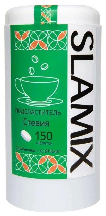 SLAMIX подсластитель стевия таблетки