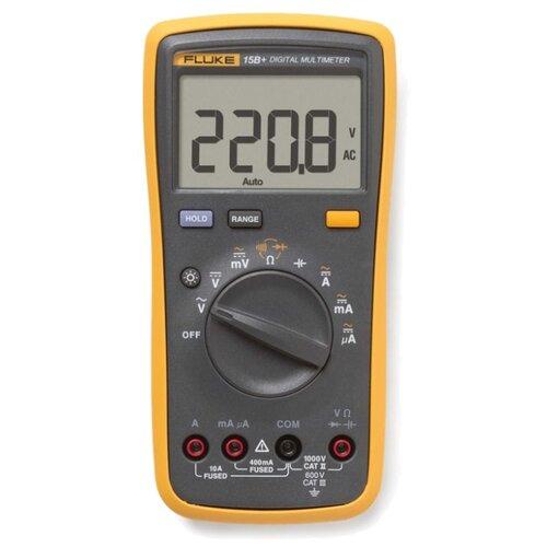 Мультиметр цифровой FLUKE 15B+ мультиметр мегомметр fluke 1587t