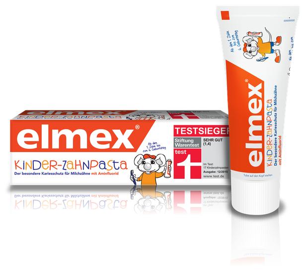 Зубная паста детская элмекс кидс 50мл до 6лет