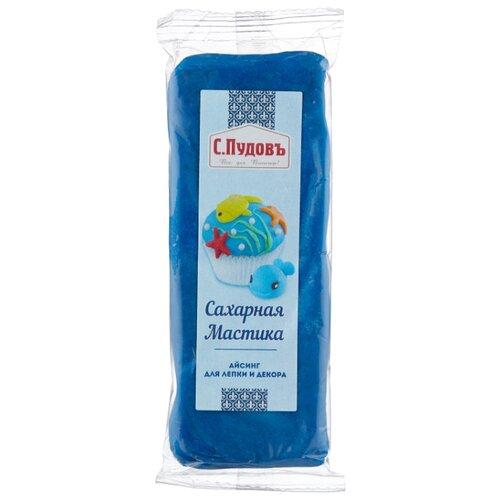 Фото - С.Пудовъ мастика сахарная 100 г синий мастика гандбольная trimona handballwax