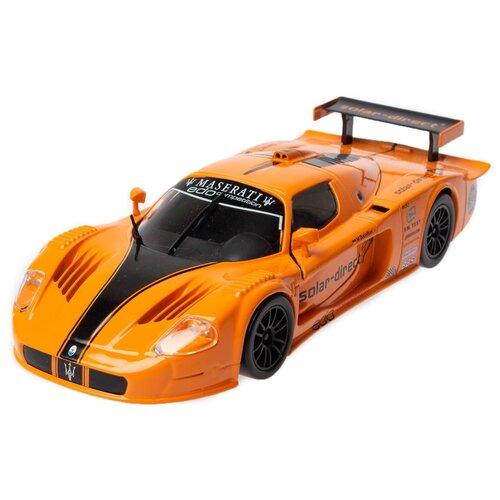 Купить Легковой автомобиль Bburago Maserati MC12 (18-21078) 1:24 оранжевый, Машинки и техника