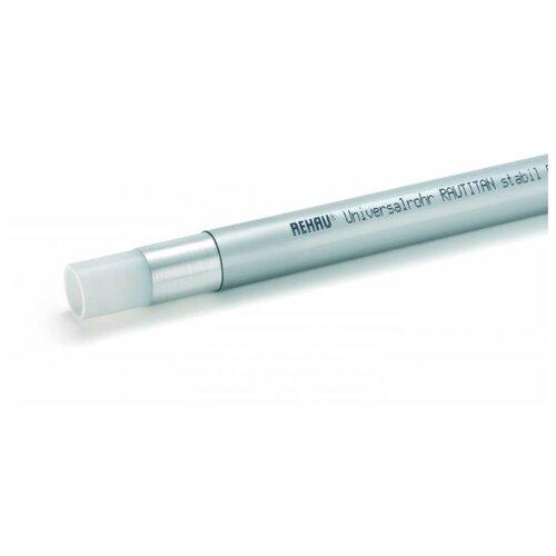 Труба из сшитого полиэтилена армированная алюминием REHAU Rautitan stabil универсальная 11301011005, DN32 мм, 5м труба универсальная rehau rautitan stabil 32х4 7 мм