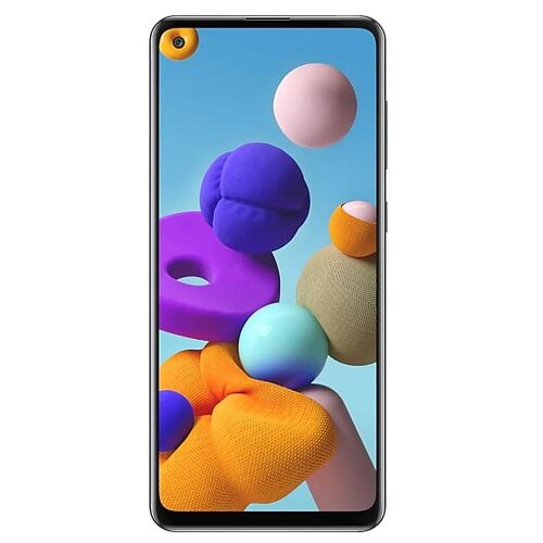 Смартфон Samsung Galaxy A21s 4/64GB черный (SM-A217FZKOSER) смартфон samsung galaxy s9 sm g960f 64gb черный