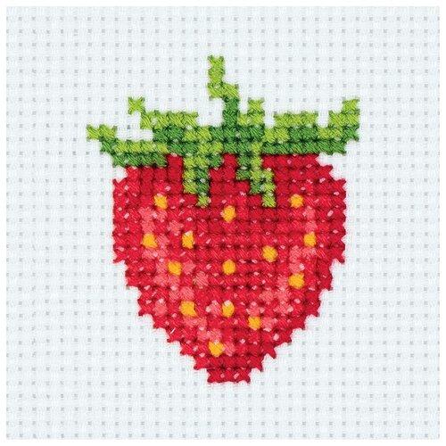 Купить Klart Набор для вышивания Ягодка 7.5 x 8.5 см (8-355), Наборы для вышивания