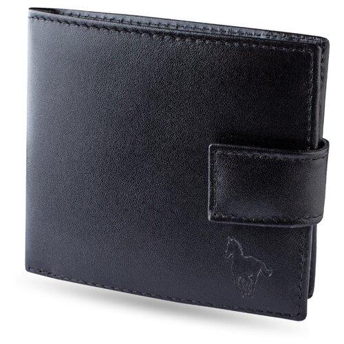 Портмоне Dimanche с RFID-защитой Mustang 932, натуральная кожа черный