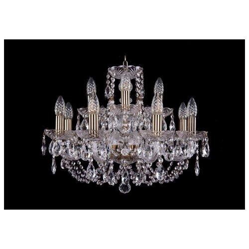 Люстра Bohemia Ivele Crystal 1406 1406/8+4/195/Pa, E14, 480 Вт подвесная люстра 1406 8 141 pa