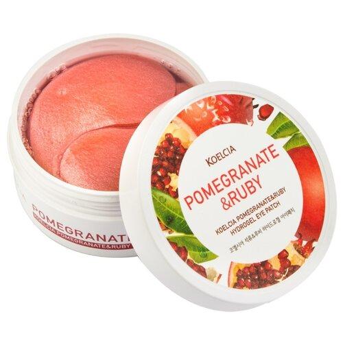 KOELCIA Гидрогелевые патчи для глаз Pomegranate & Ruby (60 шт.)