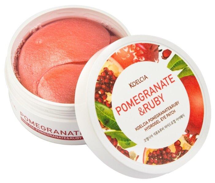 KOELCIA Гидрогелевые патчи для глаз Pomegranate