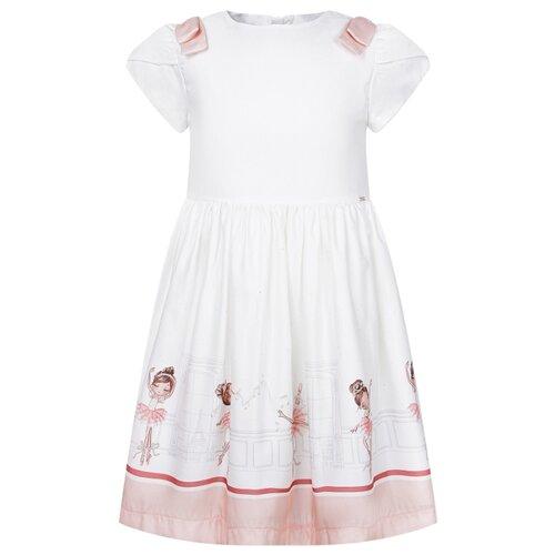 Платье Mayoral размер 104, персиковый