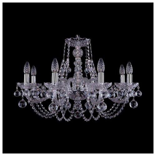 Люстра Bohemia Ivele Crystal 1406 1406/8/240/Ni/Balls, E14, 320 Вт люстра bohemia ivele crystal 1406 1406 8 160 ni leafs e14 320 вт