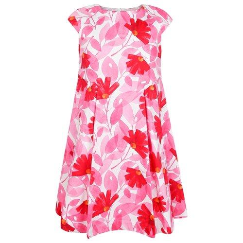 Купить Платье Mayoral размер 134, розовый/белый/цветочный принт, Платья и сарафаны