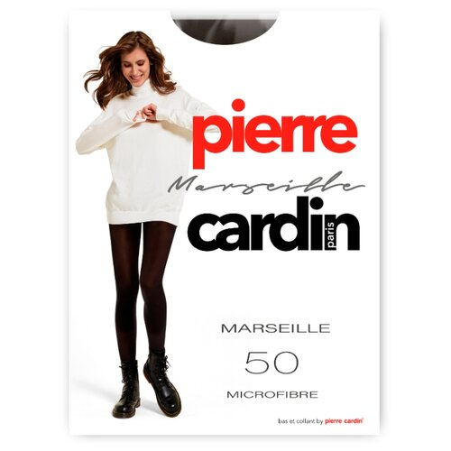 Фото - Колготки Pierre Cardin Marseille, Basic Line, 50 den, размер III-M, caffe (коричневый) колготки 50 den pierre cardin marseille coffee 2 мл