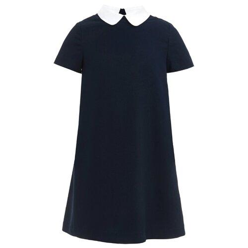 Купить Платье Gulliver размер 164, синий, Платья и сарафаны