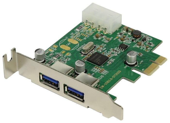 USB 3.1 Gen1 контроллер ORIENT NC-3U2PELP