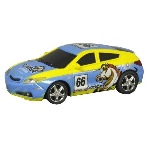 Фото - Легковой автомобиль Roys RC-6703-8 голубой/желтый легковой автомобиль roys rc 6702 4 желтый