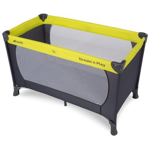 Манеж-кровать Hauck Dream'n Play green/grey