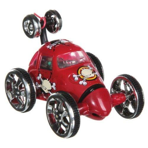 Машинка CREATE TOYS Трюкач (2152B) 6.5 см красный машинка pioneer toys fire department 26 цвет красный
