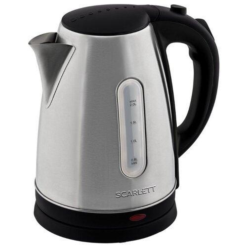 Фото - Чайник Scarlett SC-EK21S96, нержавеющая сталь чайник scarlett sc ek21s29 сталь