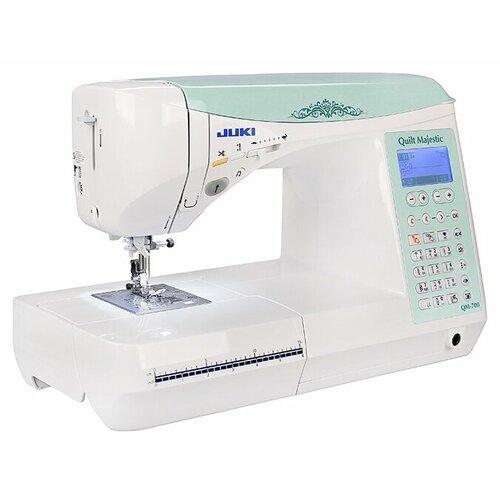 Швейная машина Juki Quilt Majestic QM-700, бело-бирюзовый