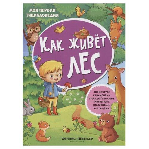 Фото - Книжка с наклейками Как живет лес - Изд. 2-е книжка с наклейками лес
