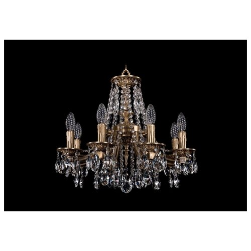 Фото - Люстра Bohemia Ivele Crystal 1771 1771/8/150/A/FP, 320 Вт люстра bohemia ivele 1771 6 150 a g