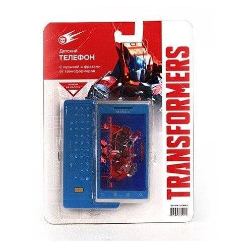 Интерактивная развивающая игрушка Hasbro Телефон сотовый Transformers GT8663 синий развивающая игрушка hasbro playskool showcam