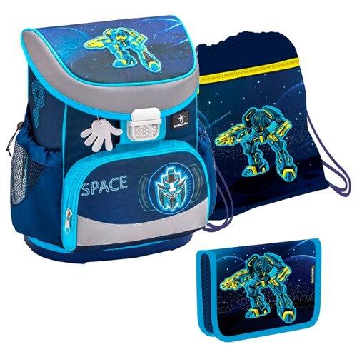 Belmil Ранец Mini-Fit - Space с наполнением (405-33/812/SET), синий