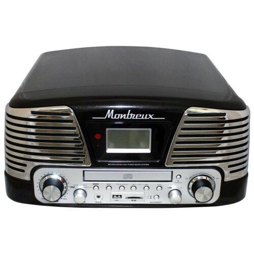 Виниловый проигрыватель PlayBox PB-106D Montreux черный