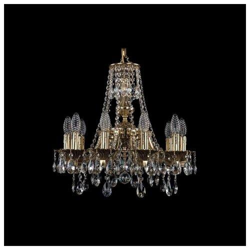Фото - Люстра Bohemia Ivele Crystal 1771 1771/10/150/A/GB, 400 Вт люстра bohemia ivele 1771 6 150 a g