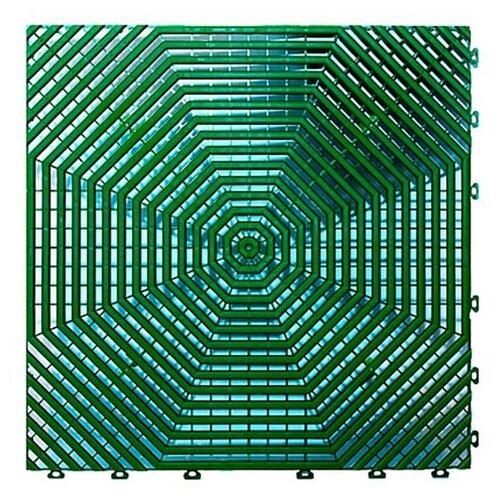 Покрытие модульное Helex HL 40x40 см, зеленый