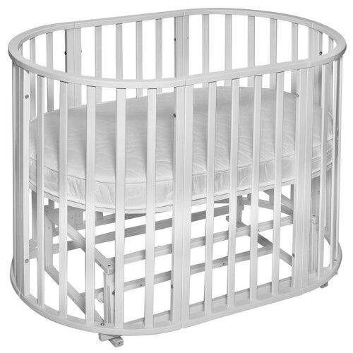 Кроватка SWEET BABY Delizia V2 9 в 1 (трансформер), поперечный маятник bianco детские кроватки sweet baby ennio маятник поперечный