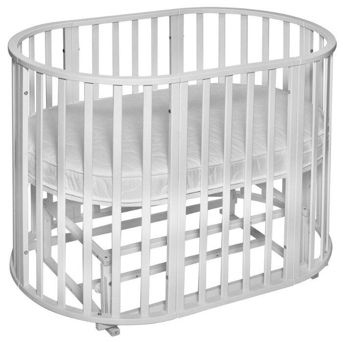 Детская кроватка Noony Cozy (трансформер), белая