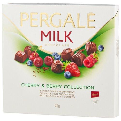 Набор конфет Pergale Milk вишнево-ягодная коллекция 130 г
